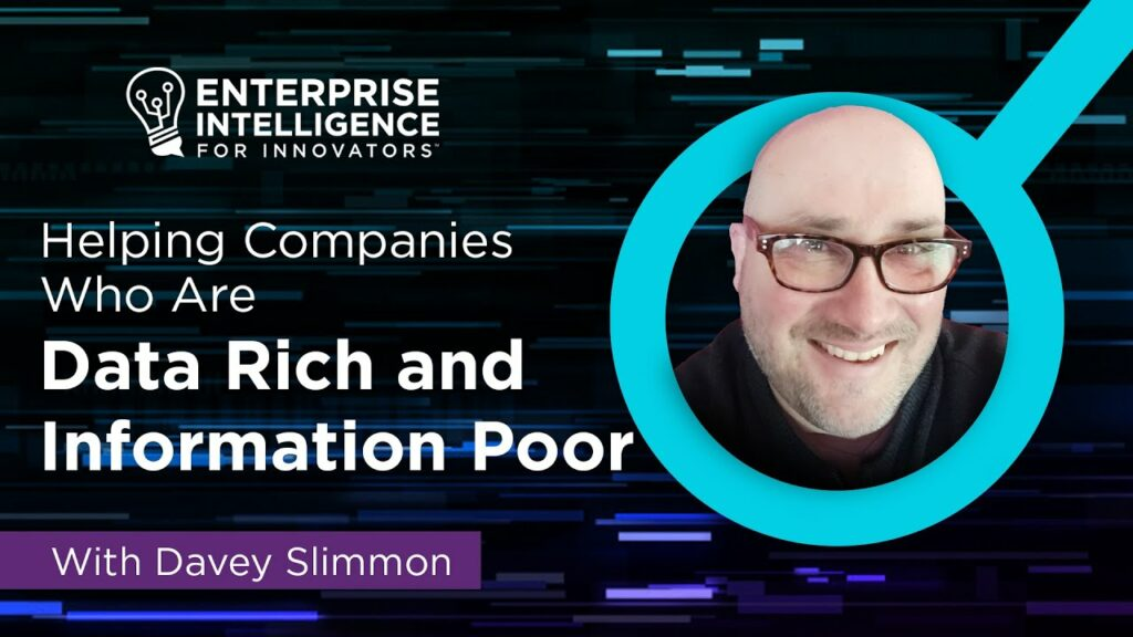 Episode 5: Dave Slimmon on Companies Being Data Rich and Information Poor